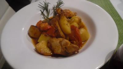 Mediterraner Hähnchen-Auflauf - Rezept