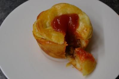Australian Meat Pie in Muffin Form - Rezept