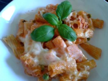 Rigatoni al Forno - Rezept