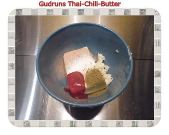 Brotaufstrich: Thai-Chili-Butter - Rezept - Bild Nr. 3