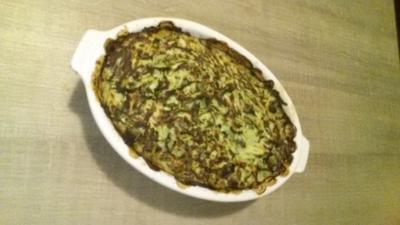 Zucchini- Kuchen - Rezept
