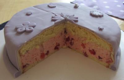 Erdbeer-Buttercreme-Törtchen (20er) - Rezept