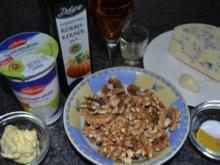 Spaghetti mit Walnuss-Gorgonzola Sauce - Rezept