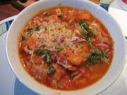 Tomaten-Paprika-Kohlsuppe - Rezept