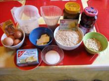 Kirsch - Haferflocken - Kuchen - Rezept