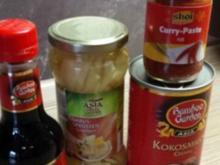 Thaihähnchencurry mit Kokosmilch - Rezept