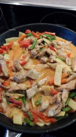 Thaihähnchencurry mit Kokosmilch - Rezept - Bild Nr. 8