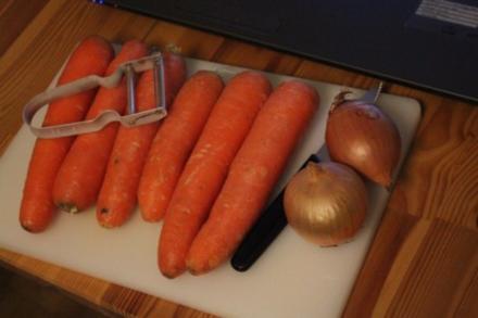 Karotten-Cremesuppe - Rezept
