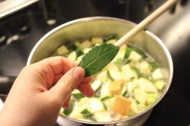 Zucchini-Cremesuppe - Rezept - Bild Nr. 3