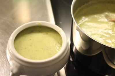 Rezept: Zucchini-Cremesuppe