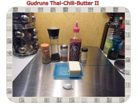 Brotaufstrich: Thai-Chili-Butter II - Rezept - Bild Nr. 2