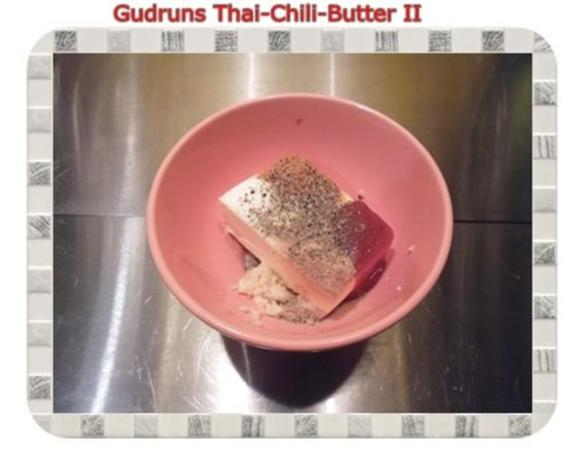 Brotaufstrich: Thai-Chili-Butter II - Rezept - Bild Nr. 3