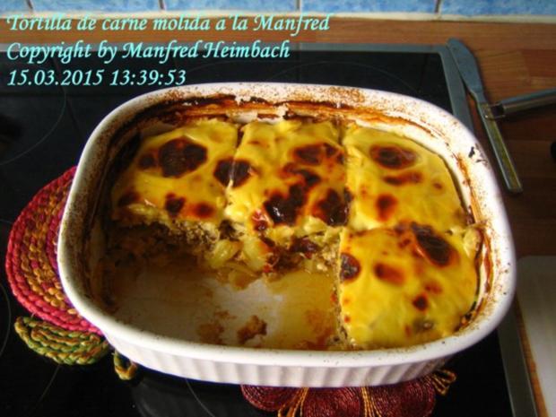 Spanisches – Tortilla de carne molida a'la Manfred - Rezept - Bild Nr. 2