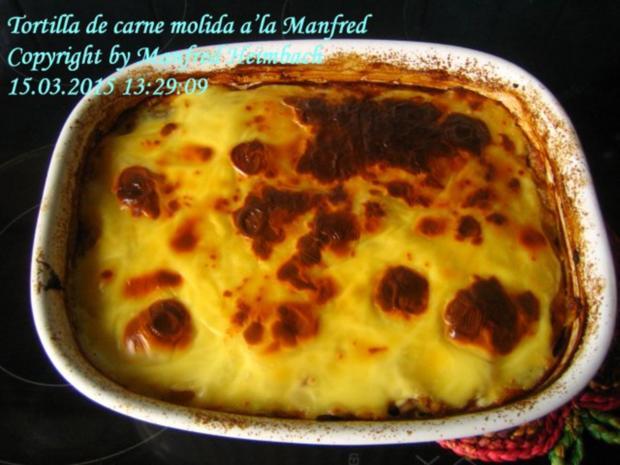 Spanisches – Tortilla de carne molida a'la Manfred - Rezept - Bild Nr. 3