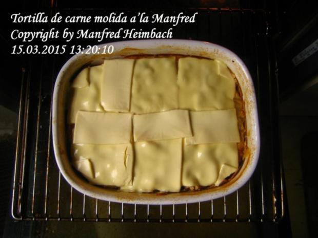 Spanisches – Tortilla de carne molida a'la Manfred - Rezept - Bild Nr. 4