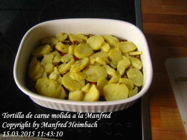 Spanisches – Tortilla de carne molida a'la Manfred - Rezept - Bild Nr. 7