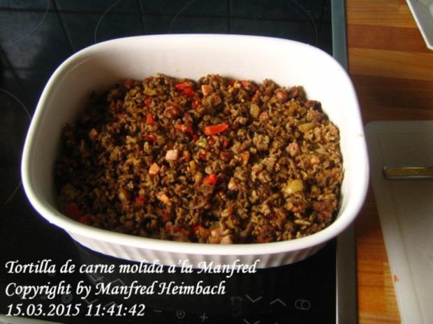 Spanisches – Tortilla de carne molida a'la Manfred - Rezept - Bild Nr. 8