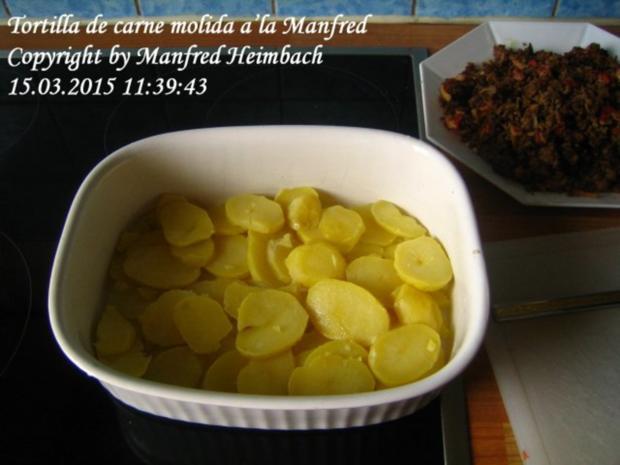 Spanisches – Tortilla de carne molida a'la Manfred - Rezept - Bild Nr. 10