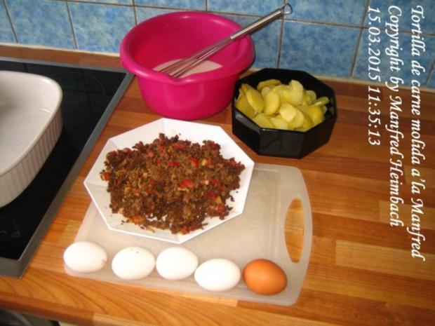 Spanisches – Tortilla de carne molida a'la Manfred - Rezept - Bild Nr. 11