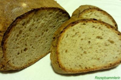 Brot:   ROGGENKRÜSTCHEN  (750gr.) - Rezept