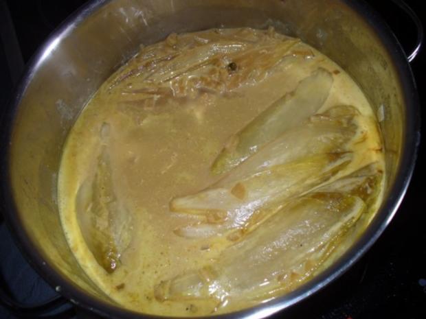 Schweinefilet mit pikant mariniertem Chicorèe - Rezept - Bild Nr. 9