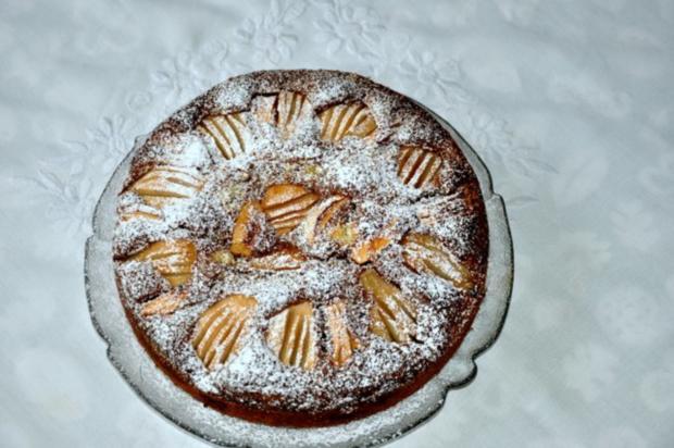Marmorkuchen mit Birnen - Rezept