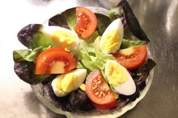Roter Kopfsalat an französischer Sauce für Gäste - Rezept - Bild Nr. 6