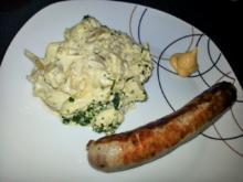 Kartoffel-Bohnensalat - Rezept