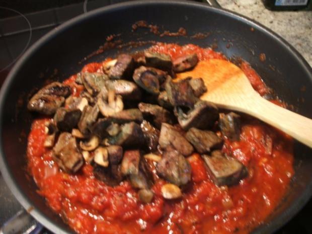 Innereien: Rinderleber in Tomaten - Rezept - Bild Nr. 8