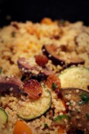 Lamm-Couscous-Gemüse-Pfanne; Orientalisches Fleischgericht - Rezept