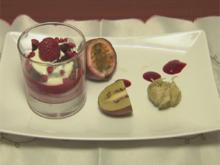 Schokokuchen mit Himbeerragout (Tanja Tischewitsch) - Rezept