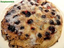 Dessert:   FRUCHTIGE PFANNKUCHEN - Rezept
