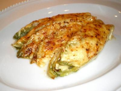 Chicorée mit Käse überbacken - Rezept