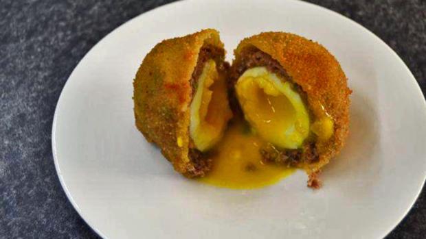 Michas Schottische Eier (Scotch Eggs) - Rezept - Bild Nr. 5