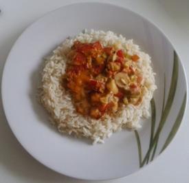 Schnitzel im Reisnest - Schichtschnitzel - Rezept