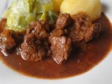 "Saftgulasch ""Wiener Art"" - Rezept"