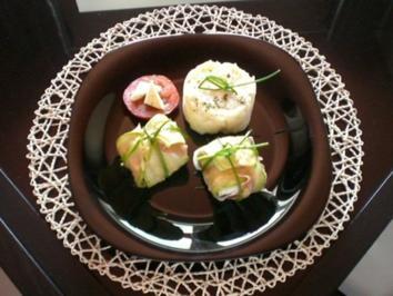 Zucchini-Päckchen - Rezept