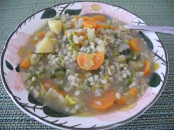 Buchweizen - Gemüse - Suppe / Eintopf - Rezept