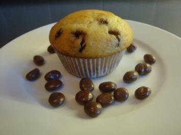 Muffins mit Schoko-Rosinen - Rezept