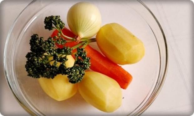 "Kartoffel-Möhren  Puffer mit ""dem Korn der Inkas"" verfeinert - Rezept - Bild Nr. 5"