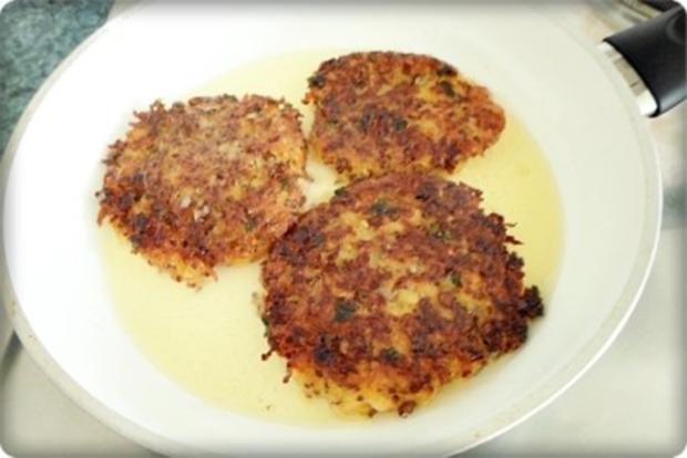 "Kartoffel-Möhren  Puffer mit ""dem Korn der Inkas"" verfeinert - Rezept - Bild Nr. 17"