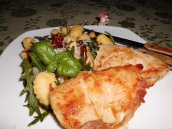 Puten-Saltimbocca mit Gnocchi Burro Salvia>> - Rezept