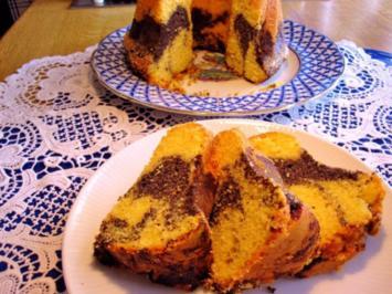 Rezept: Kleiner Mohn-Rodonkuchen  (18 cm)