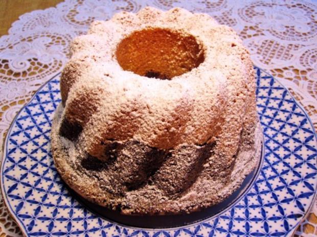 Kleiner Mohn-Rodonkuchen  (18 cm) - Rezept - Bild Nr. 7
