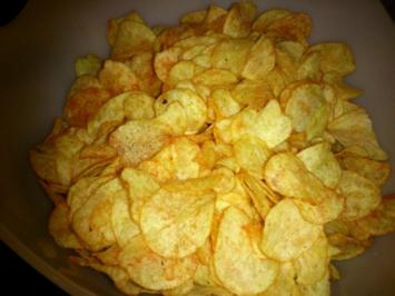 Kartoffelchips ohne Geschmacksverstärker! - Rezept