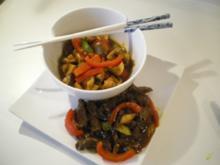 Rinder-Geschnetzeltes asiatisch scharf - Rezept