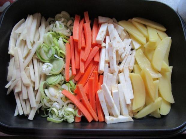 Auflauf: Gemüse-Durcheinander - Rezept - Bild Nr. 5