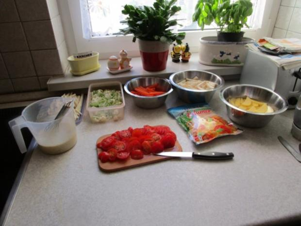 Auflauf: Gemüse-Durcheinander - Rezept - Bild Nr. 3