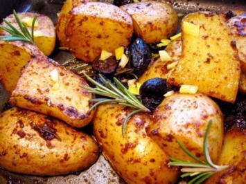Ofenkartoffeln - heute mal griechisch - Rezept