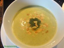 Suppe:   BROCCOLI - SAHNE- SÜPPCHEN - Rezept